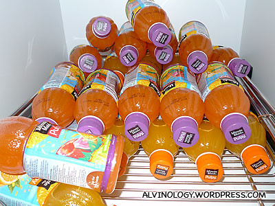 Lots of Minute Maid Pulpy