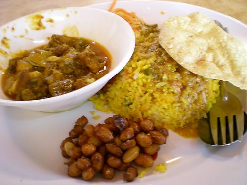 Rafie's nasi bryani - mutton