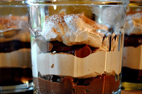 Double Chocolate Parfaits