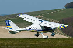 Flight Design CT-SW (G-TODG) - Landing Sequence