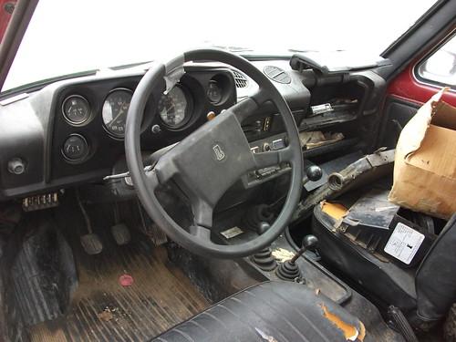 1991 Lada Niva interior
