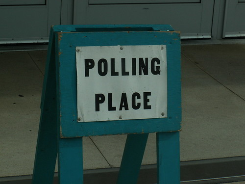 Pic of the day - Polling Place