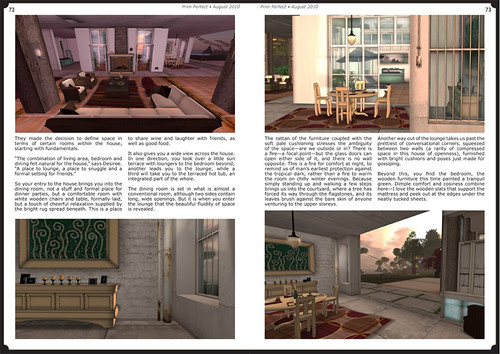 Prim Perfect Issue 27 - Summer 2010: Inside page - Designer Home of the Month