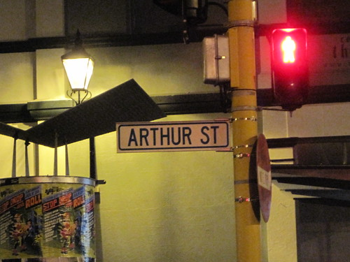 Arthur Street Wellington NZ
