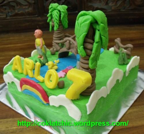 Ipin Dan Upin Jual Kue Ulang Tahun Page 7