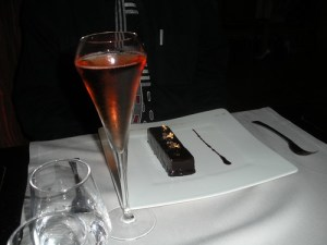 Chocolate and cassis palet