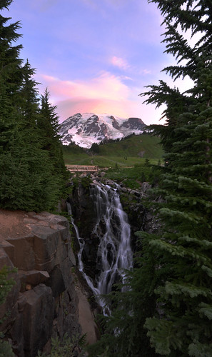 Mount Rainier in the Morning