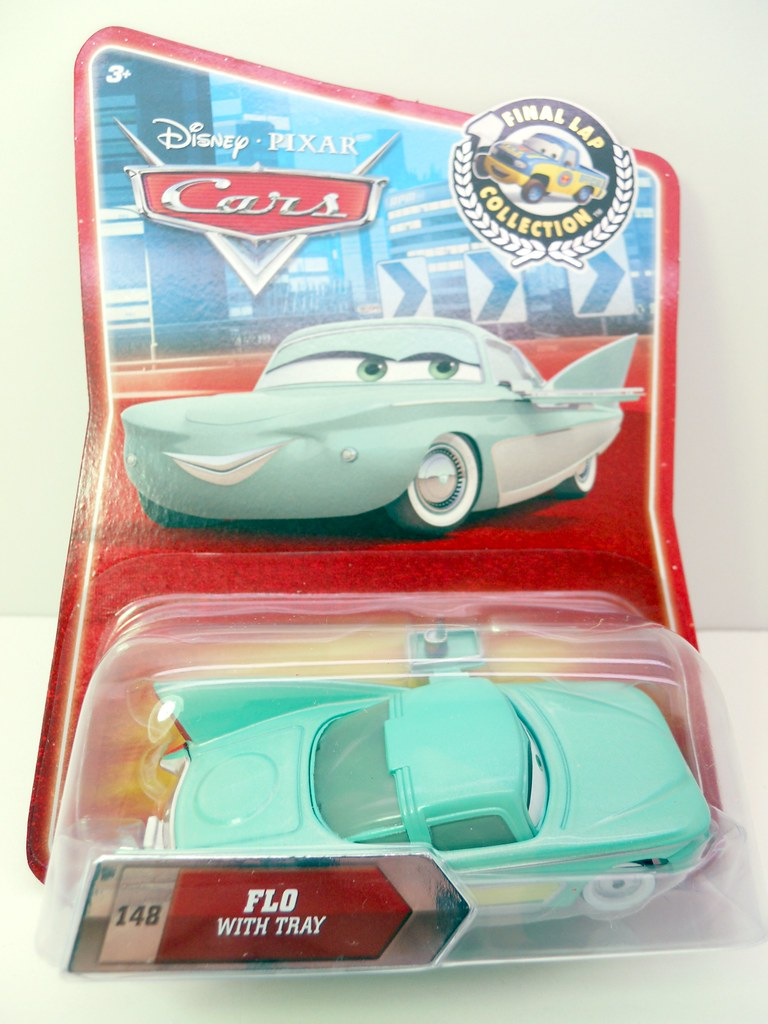 disney cars final lap flo with tray (1)