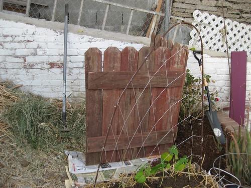 Compost Corner, Front View