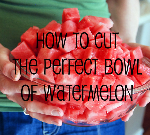 How to Cut a Perfect Watermelon