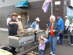 2010 Calgary Stampede Breakfast with Prime Minister Harper