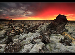 Heat Radiation - Reykjanes, Iceland by orvaratli