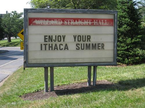 Enjoy Your Ithaca Summer