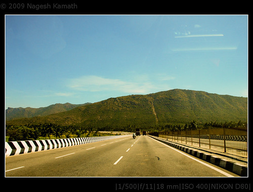 Road from Bangalore to Chennai | Vellore