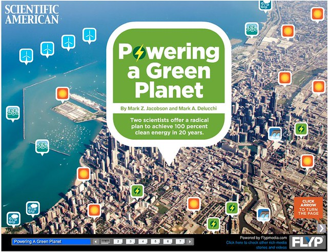 Powering a Green Planet: Sustainable Energy, Made Interactive