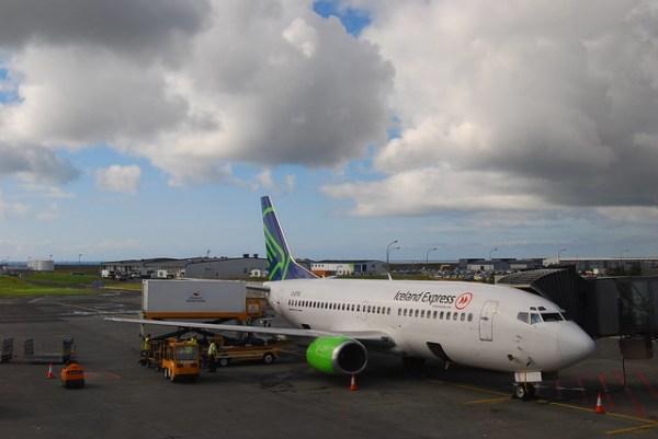 Avión de Iceland Express