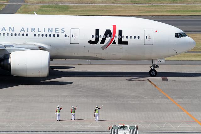 JAL B777-200(JA773J)