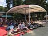 Photo:この後、ここで横綱「稀勢の里」の土俵入りがありました By