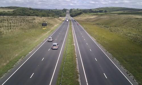 A30 near Bodmin