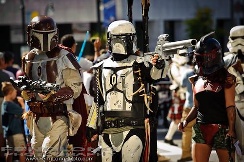 Star Wars Mandalorians (Fetts)
