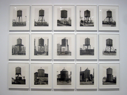 Bernd and Hilla Becher - New York Water Towers