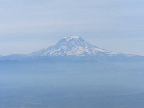 Mt. Rainer, 11:34 AM