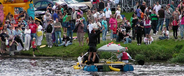 Llandaff Raft Race