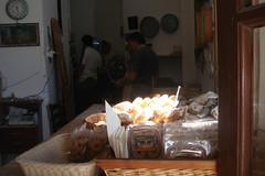 Naxos: Beim Bäcker