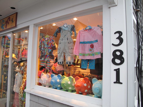 children's boutique, P-town