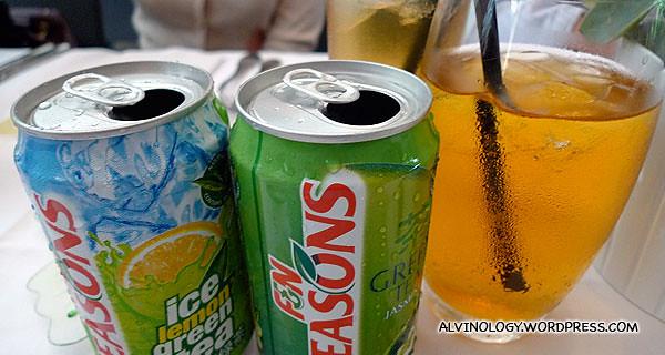 The two new F&N Seasons drinks