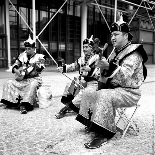 Mongolian Throat Singing Band, Center Pompidou, Paris