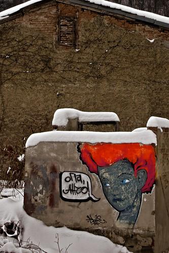 Red Head Graffiti