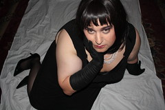Early Morning Surprise: LBD Glamour Pose (3/3)