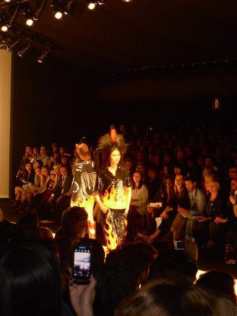 Ashish flame dress