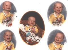 Seanie boy Age 7 months
