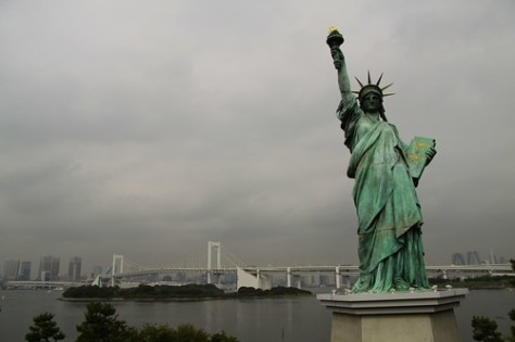 Statue of Liberty, Odaiba
