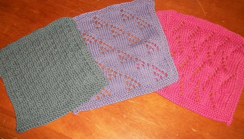 Knitted Washcloths
