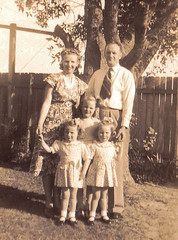 Whitfield family c 1949
