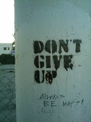 Give Up Graffiti #ds367
