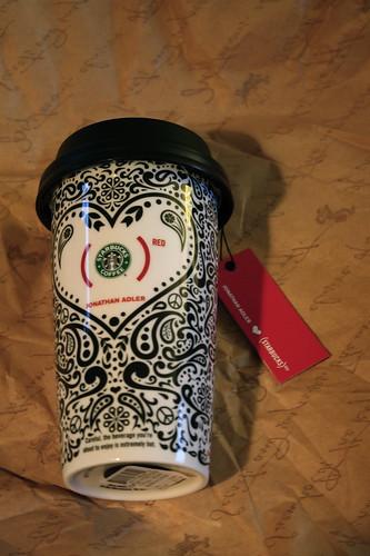 Starbucks Jonathan Adler ceramic cup
