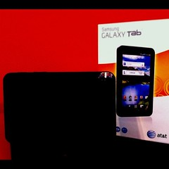 Gadget! Samsung Galaxy Tab #galaxytab To test out.