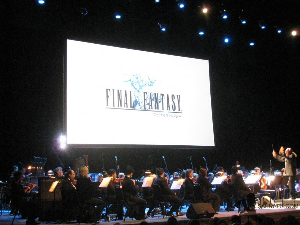 Final Fantasy Distant Worlds Concert 16