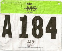 My Bike MS 2010 Number