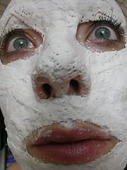 Mask making.