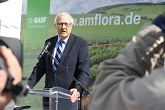 Start der Amflora-Ernte in Mecklenburg-Vorpomm...