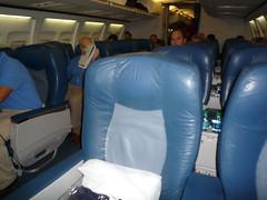 Domestic First Class Seat Delta