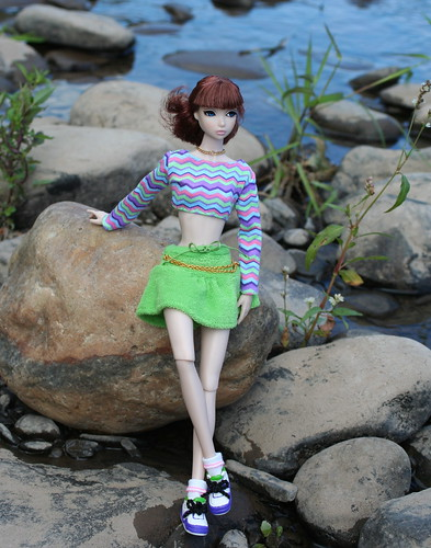 Misaki at the River's Edge