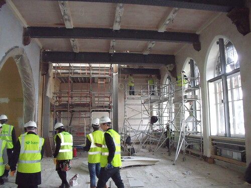 The Middle Floor with Lift Shaft
