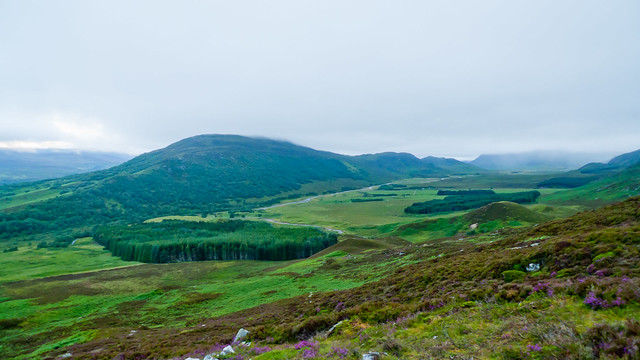 Glen Banchor from Creag an Loin