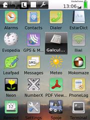 SHR desktop (Illume2)
